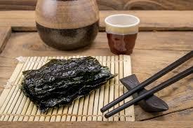 cuisine japonaise santé d où viennent les algues nori tanoshi tanoshi