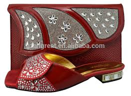 wedding shoes and bags new arrival low heel shoes and bag set italian shoes and
