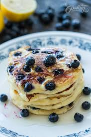 blueberry pancake ricotta blueberry pancakes home cooking adventure
