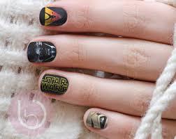 star wars nail art etsy
