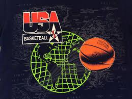 World Map T Shirt by Usa Basketball Shirt 90 U0027s Vintage Dream Team World