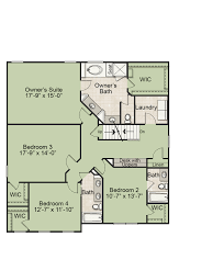 What Is Wic In A Floor Plan The Brookford New Homes In Raleigh Nc Royal Oaks Homes