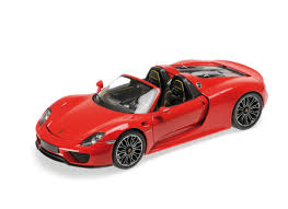 red porsche 918 minichamps 1 18 porsche 918 diecast model car 110062435