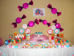 birthday decoration at home interior design candy themed birthday party decorations luxury