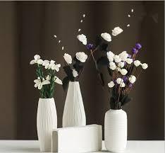 vasi decorativi moda fiore bianco vaso di ceramica per le vasi decorativi