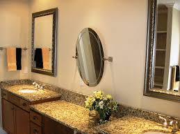 wonderful brushed nickel bathroom mirror inspiration home designs