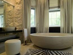 inspirational ideas for choosing properly bathroom window curtains