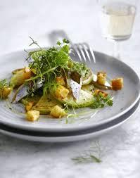 cuisiner le hareng frais salade de harengs chou et croûtons 30 minutes recette
