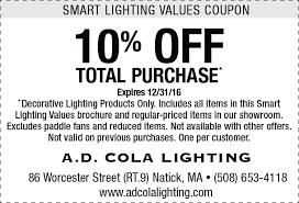 lighting the web coupon smart lighting values save on kitchen and bath lighting ad cola