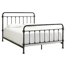 Weston Home Nottingham Metal Spindle Bed Hayneedle - White bedroom furniture nottingham