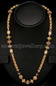 chain necklace design images Image result for types of gundu chains jewellry pinterest jpg