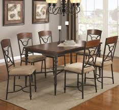 gorgeous dining room metalle legs wood withles chairs sets diy