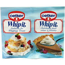 dr oetker whipping cream stabilizer 35 oz pack of 30