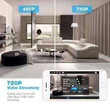 pan tilt wireless surveillance ip camera for home security u2013 ec
