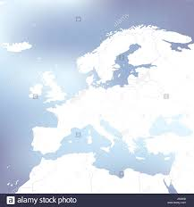 Political Map Of Europe by Political Map Of Europe Abstract Blurred Background Vector Stock