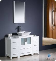 Modern White Bathroom Ideas - unique modern white bathroom vanities vanity with top and coloured