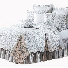 French Toile Bedding Navy Blue Toile Duvet Cover Sweetgalas