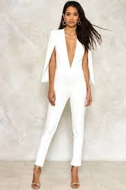 gal jumpsuit lyst gal cape it together tailored jumpsuit in white