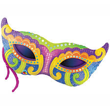 marti gras masks mardi gras mask balloon ultimate party store