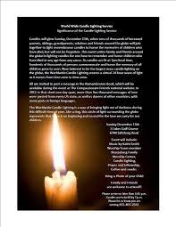 worldwide candle lighting service u2013 3 lakes golf course