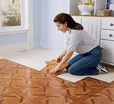 Installing Vinyl Tile How To Put Vinyl Flooring Indoor Lighting