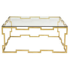 coffee tables gold drum coffee table nate berkus gold coffee