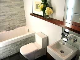 Small Modern Bathrooms Small Modern Bathroom House Decorations