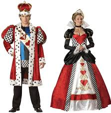 King Tut Halloween Costume Couples King Queen Hearts Costume Royalty Party Theme