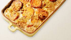 sweet potato and apple gratin recipe wolfgang puck recipes