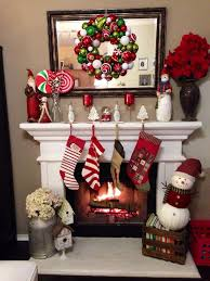 Fireplace Decorating Ideas Best 25 Christmas Fireplace Decorations Ideas On Pinterest