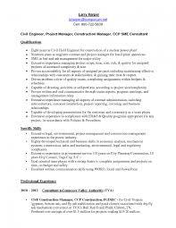 Civil Engineer Resume Sample Pdf Civil Engineer Resume Template Saneme