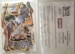 abraham and isaac bible felt board figure set