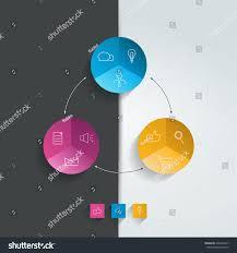 round flowchart infographics diagram stock vector 230462677 round flowchart infographics diagram