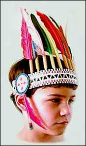 family crafts indian chief headdress indian vest