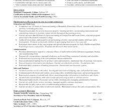sle resume exles new teacherume sle elementary school graduate