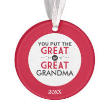 great grandparents ornaments keepsake ornaments zazzle