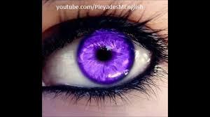 Purple Eye Color | powerful subliminal change your eyes color purple success 100