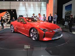 lexus lc luxury coupe 2016 detroit 2017 lexus lc 500 brings in new era for brand
