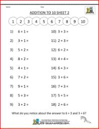 addition and subtraction worksheets kindergarten free worksheets