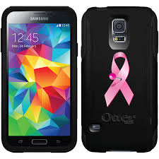 samsung galaxy s5 design pink ribbon pin design on otterbox commuter for samsung