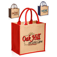 personalized tote bags bulk custom jute tote bags for your business discountmugs