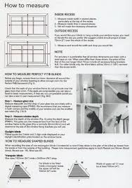 measuring guide pendle blinds