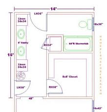 bathroom plan ideas design bathroom floor plan for exemplary master closet and bath