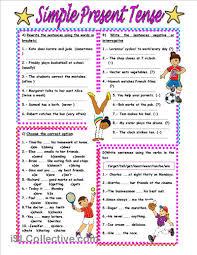 printable worksheets english tenses simple present tense worksheet free esl printable worksheets made
