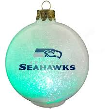 seattle seahawks ornament led color changing walmart