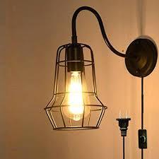 Industrial Looking Lighting Fixtures Industrial Wall Lights Black 1 Light Metal L Sconce Fixture