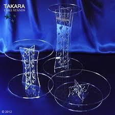 acrylic cake stands cascades takara cake stands cascades