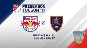 Bulls Flag Ny Red Bulls Vs Real Salt Lake Desert Friendlies 2017 Live