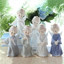 angel decorations for home 2018 ceramic figure angel decorations home furnishing ornaments