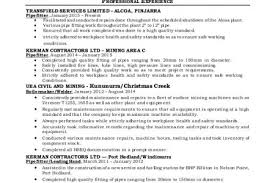 Steward Resume Sample by Union Resume Of Trevor Quick Boilermaker Resume Sample Traders